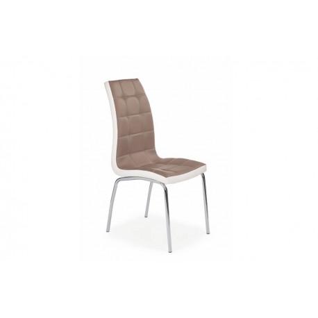 Jedálenská stolička DUO cappucino
