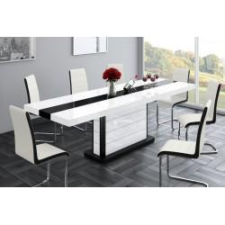 Luxusný rozkladací jedálenský stôl PIANOSA