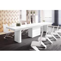 Luxusný rozkladací jedálenský stôl KOLOS 160 MATNY /až 412cmviac farieb/