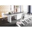 Luxusný rozkladací jedálenský stôl KOLOS 140 /až 332cm/viac farieb