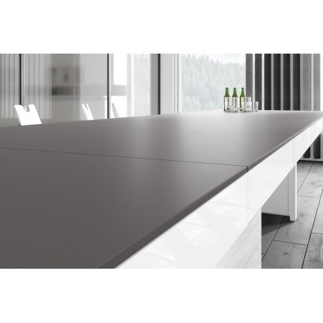 Luxusný rozkladací jedálenský stôl KOLOS MATNY /až 412cm/