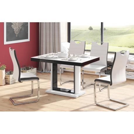 Luxusný rozkladací jedálenský stôl QUADRO 120