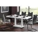 Luxusný rozkladací jedálenský stôl QUADRO 120 MAT