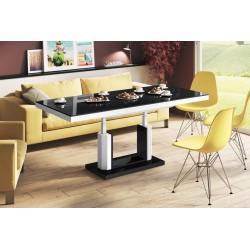 Luxusný rozkladací konferenčný stolík QUADRO LUX viac farieb LESK