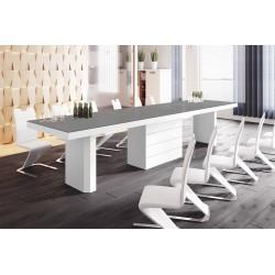 Luxusný rozkladací jedálenský stôl KOLOS 160 MATNY /až 412cm/viac farieb