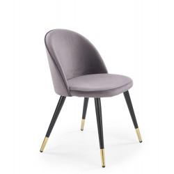 Jedálenská stolička MESTRE šedá