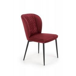 Jedálenská stolička Parma bordová