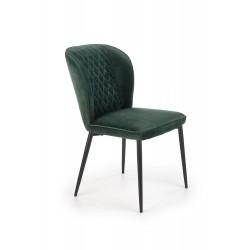 Jedálenská stolička Parma zelená