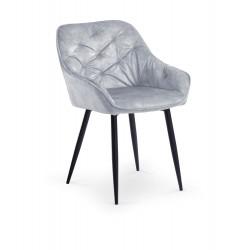 Jedálenská stolička BOLZANO šedá