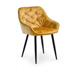Jedálenská stolička BOLZANO horčicová
