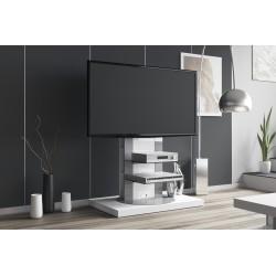 TV stolík s otočným stojanom Hubertus ROMA 2 biela