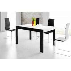 Luxusný rozkladací jedálenský stôl IMPERIA 130 LESK viac farieb