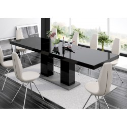 Luxusný rozkládací Jedálenský stôl LINOSA 2 vysoký lesk