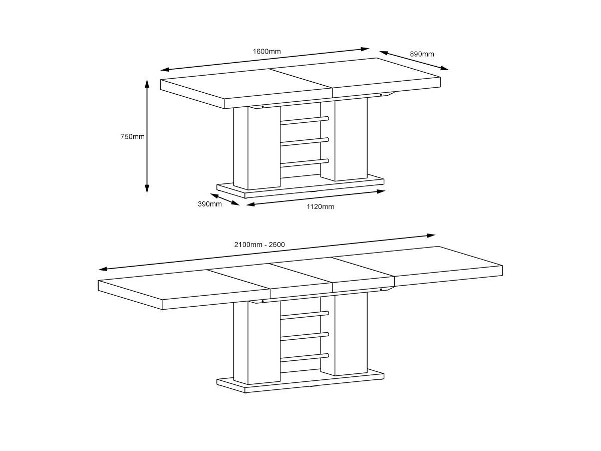 8d9e0f05a5ec4 Luxusný jedálenský stôl Linosa za nejlepšiu cenu | Stolíkovo.sk