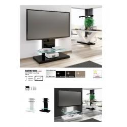 TV stolík stojan s LED podsvietením Marino Max (capucino)