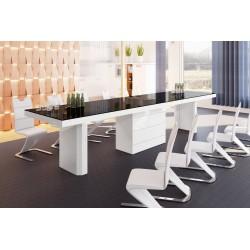 Luxusný rozkladací jedálenský stôl KOLOS 160 /až 412cm/viac farieb