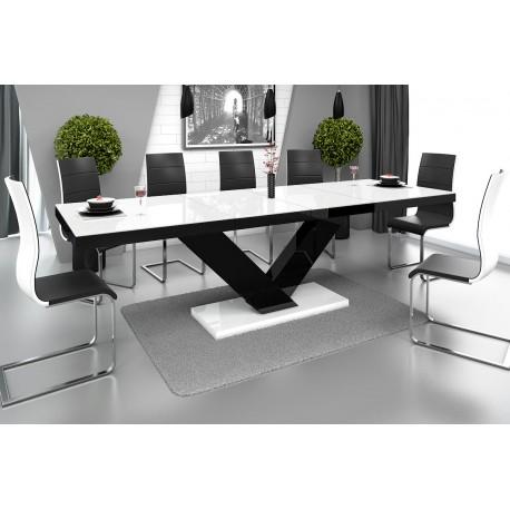 Luxusný rozkadací jedálenský stôl Hubertus VICTORIA