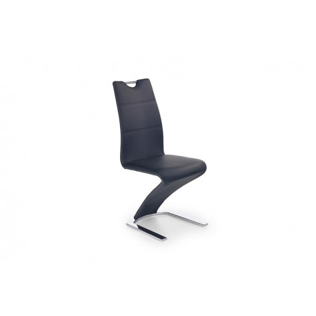 Jedálenská stolička FABRIANO čierna