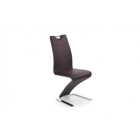Jedálenská stolička FABRIANO hneda