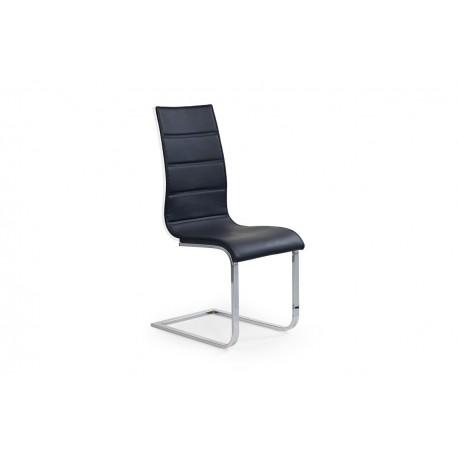 Jedálenská stolička SIENA čierno/biela