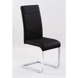 Jedálenská stolička BARI čierna